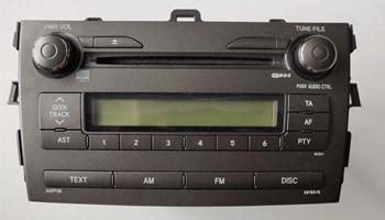 Toyota CD/MP3/WMA RDS auto radio