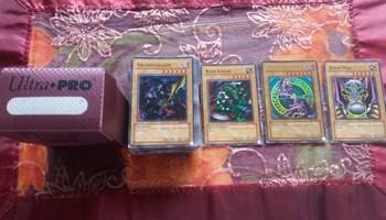 Yuhi Oh starter deck Pagasus 50+7karata, i Profi Deck 100 karata