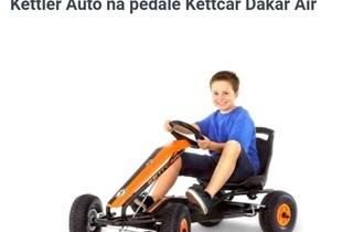 Auto na pedale,Kettler Dakar Air