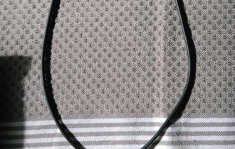 Ogrlica siva, veći medaljon
