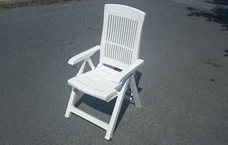 Sklopiva stolica s regulacijom naslona, 80 kuna