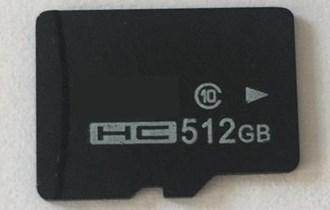 Micro sd card 512GB
