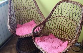 Pletene fotelje