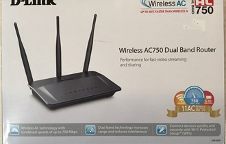 D-LINK Wireless AC750 Dual Band Router