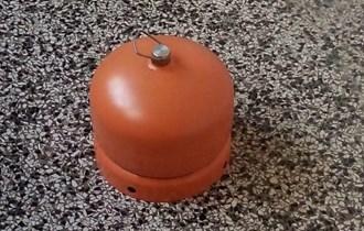 Mala plinska boca za kampiranje, 2 kg, prazna, 140 kuna