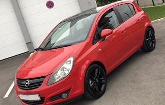 Opel Corsa 1,4 16v 101 KS - SPORT RED&BLACK⭐️ LIMITED EDITION ⭐️ 2011/2012 - FULL OPREMA - ALU 17 - KUPLJENA U HR 1. Vlasnica - Profilirana sjedala ** 165.000 KM ORIGINAL **** NEMA PRIJENOSA - REG 03/2020