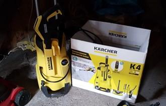 KARCHER K4 Full Controlvisokotlačni čistač, 20-130 bar, 420l/h
