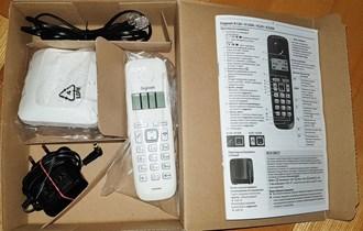 Novi bežični telefon Gigaset A120 bijeli