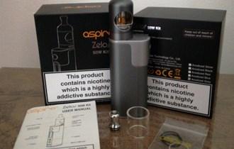ASPIRE ZELOS 50W KIT e cigareta - parilica