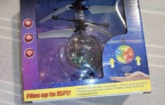 Flying Colored RC Ball *NOVO*