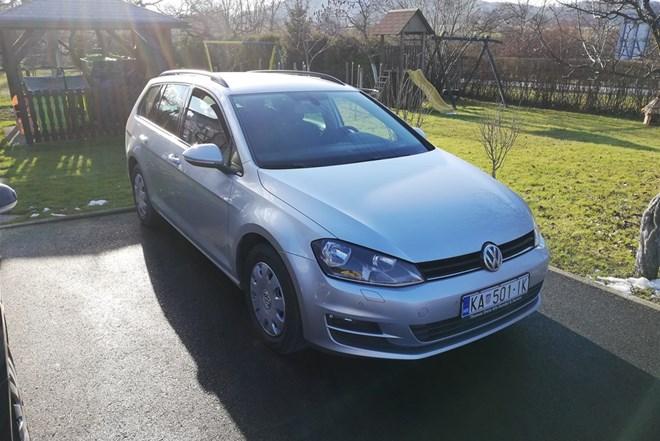 VW Golf VII 1.6tdi