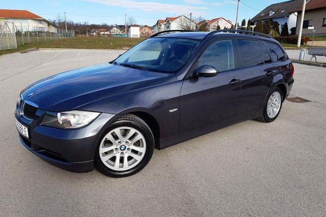 BMW 320D 177ks 2007 g, reg, promijenjen lanac, mog.zamjena