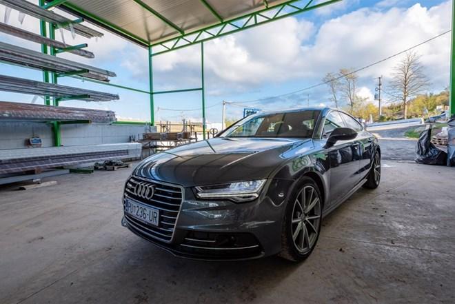 Audi A7 3,0 TDI S-tronic SLine Quatro