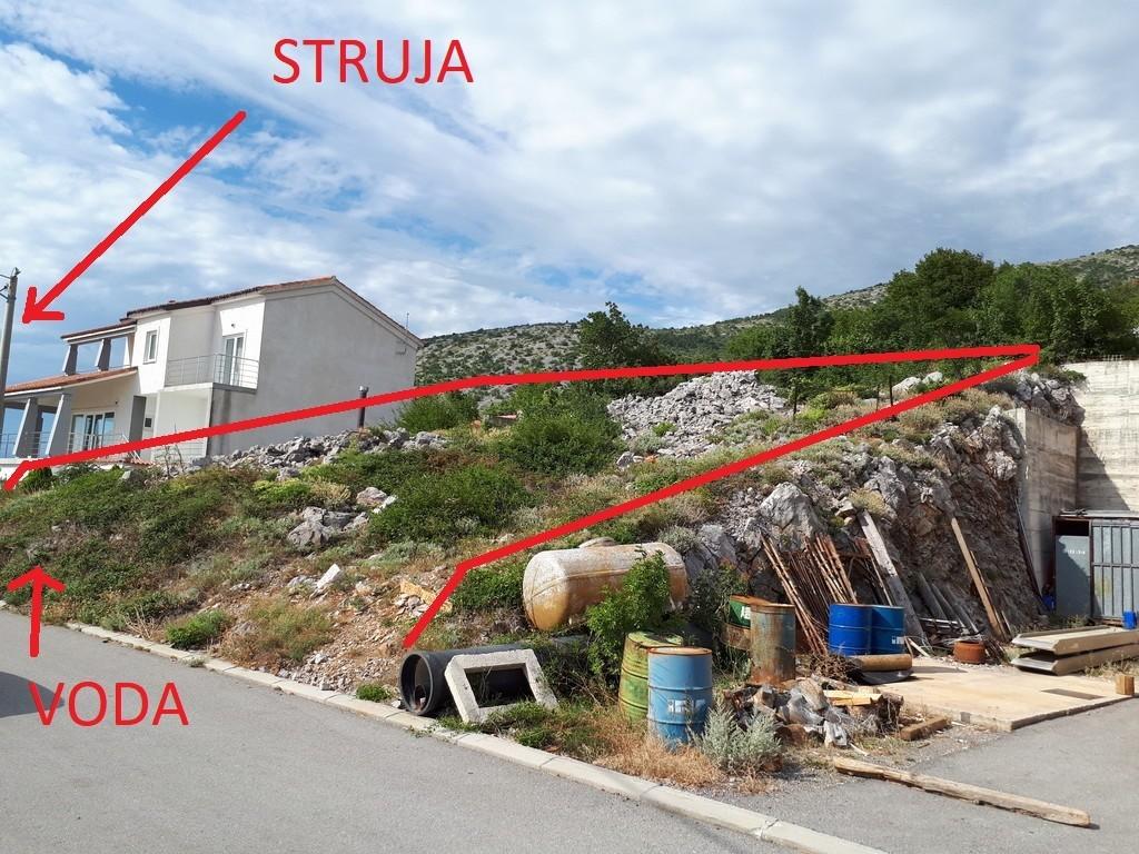 Zemljište Senj-2.red od mora, pogled, gradnja od 62-470m2 od 1-3 etaze