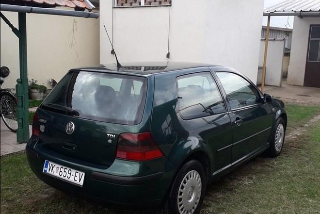 VW Golf IV 1.9 TDI 1999 god.reg. 10/2020 god. odličan