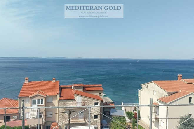 Trosoban Stan: Podstrana, novogradnja, blizu mora, pogled