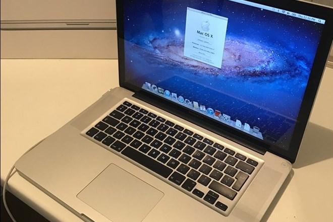 Apple Macbook pro 15 late 2011, 2.2Ghz i7