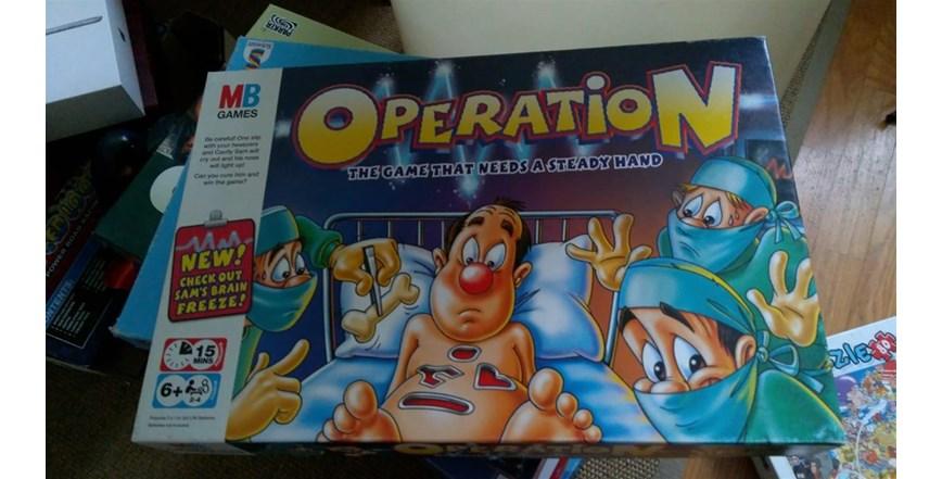 Operacija Operation društvena igra