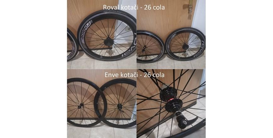 Trkači kotači za bickl