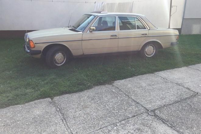 Mercedes-Benz 123 240 dizel 1VLASNIK
