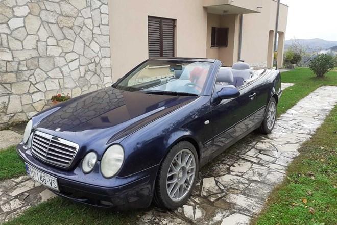 Mercedes-Benz CLK cabrio MOGUĆA ZAMIJENA - HITNO , HITNO ....