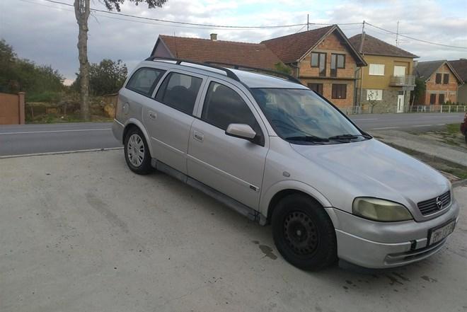 Opel Astra Karavan 2.0di klima, motor savrsen,