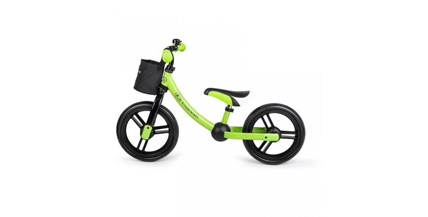 Bicikl 2WAY NEXT green grey Kinderkraft + POKLON