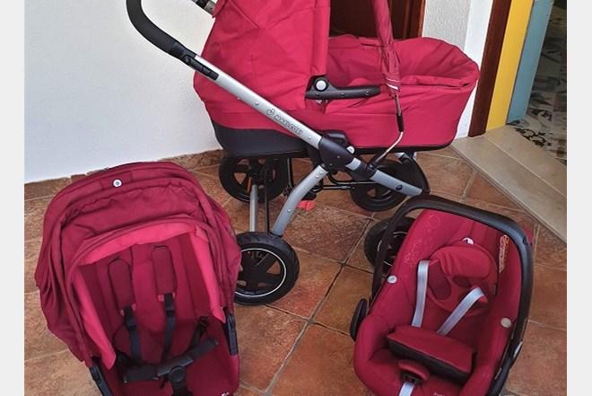 Prodajem dječija kolica MAXI-COSI 3 u 1 odlično očuvana