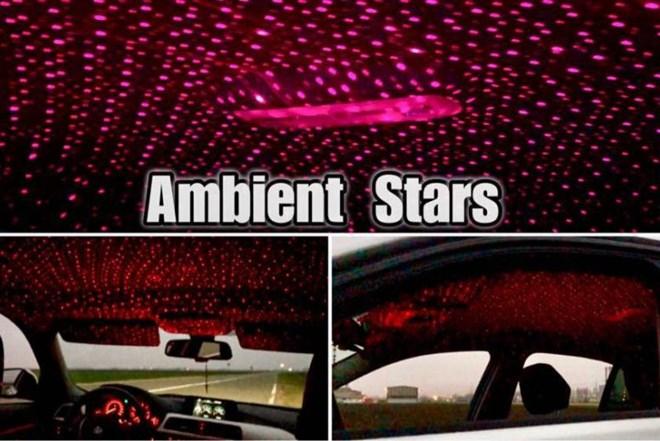 Ambijent zvijezde za auto