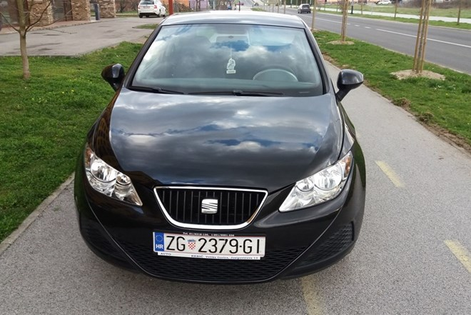 Seat Ibiza 1.4tdi2010g.reg.do8.2018servisna.napr. vel.servis4600eu.moze zamjena
