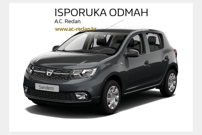 dacia sandero 1 0 sce 75 essential index oglasi. Black Bedroom Furniture Sets. Home Design Ideas