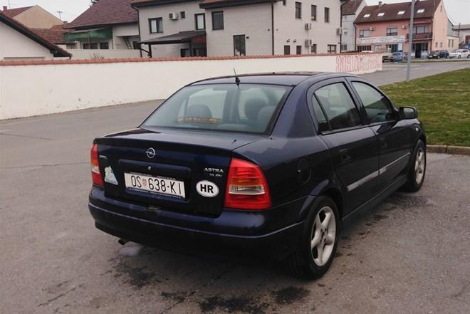 Opel Astra 1.6 benzin- LPG