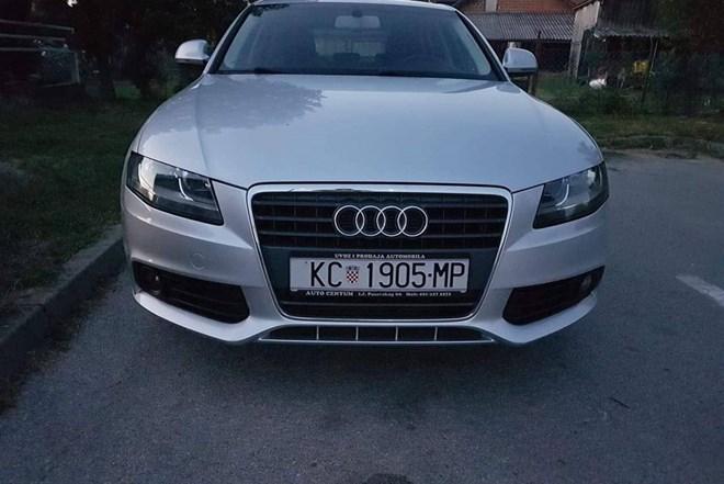 Audi A4 2.0 TDI..ODLIČNO STANJE...SERV.KNJIGA,KOŽA,NAVIGACIJA,GRIJANJE SJEDALA...