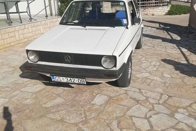VW Golf I 1.6 d