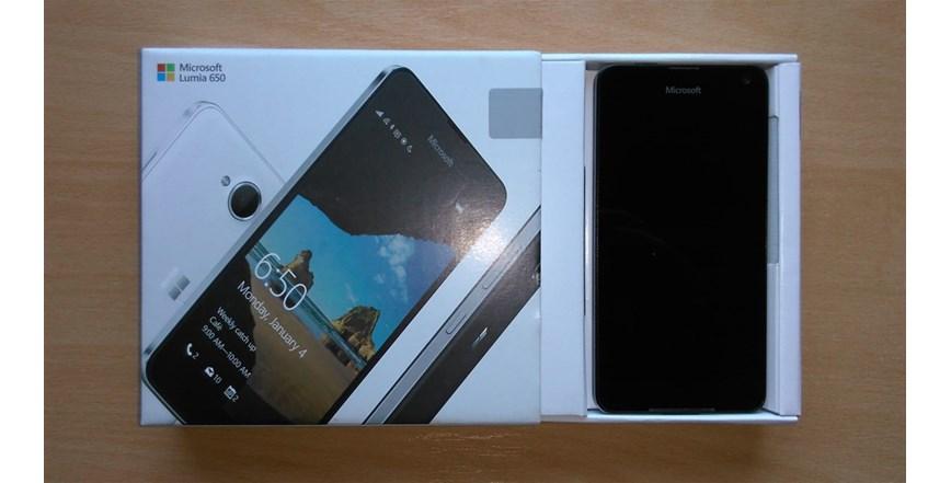 Microsoft lumia 650, prvi vlasnik kupljen u A1 centru, račun, besprijekoran