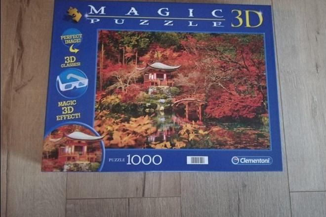 Clementoni 3D puzzle 1000 komada