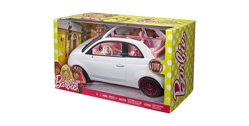 Barbie Fiat 500 + lutka
