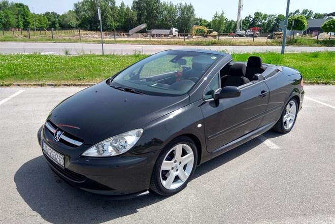Peugeot 307 CC 2.0,model 2005,reg 5/2020,alu,park senzori,klima..odlican AKCIJSK CJENA