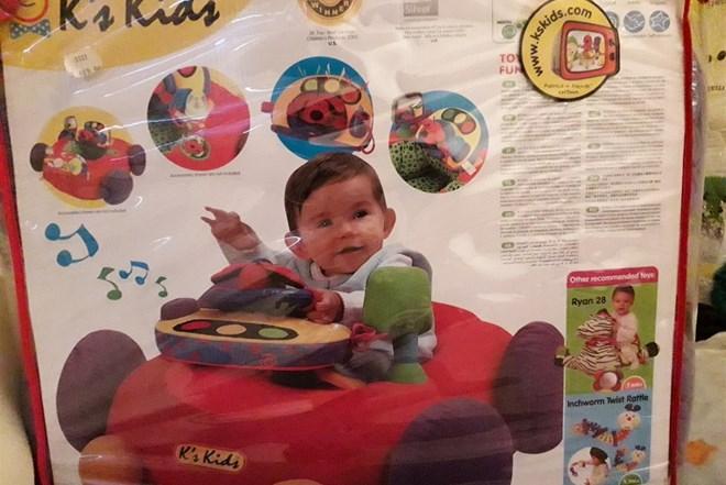 DIdaktička igračka Auto
