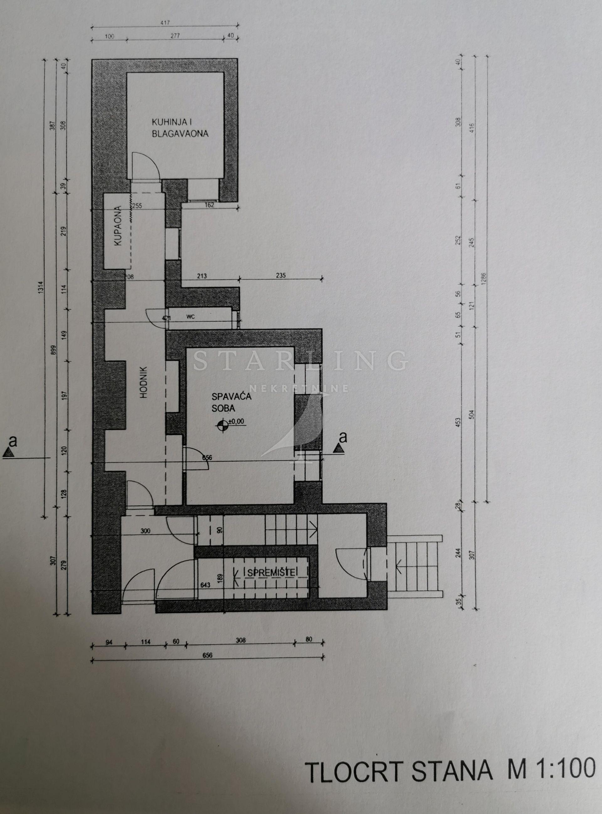 STAN, PRODAJA, ZAGREB, ČRNOMEREC, ULICA GRADA MAINZA 39 m2,