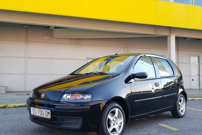 Fiat Punto 1.2 SX-KLIMA,HR AUTO,M.ZAMJENA,AMEX,DINERS,RATE
