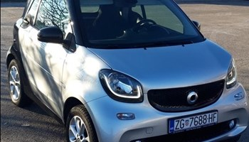 Smart fortwo coupe Hr auto, nije uvoz, prvi vlasnik