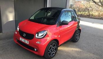 Smart fortwo cabrio LED AUTOMATIK 90ks 9000km !! Novo!