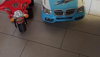 Dječiji električni auto i motor