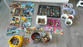 Lego kolekcija i minifigure, Star Wars, Creator, City, Technic, etc.