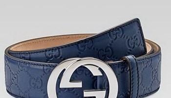 Original Gucci Remen tamno plavi