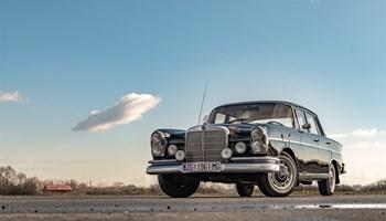 Najam Mercedes oldtimera