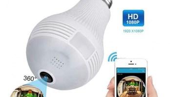 Bežična WiFi Kamera u obliku žarulje - prodajem