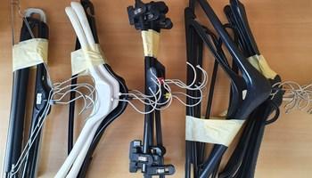 Vješalice PVC za odjeću