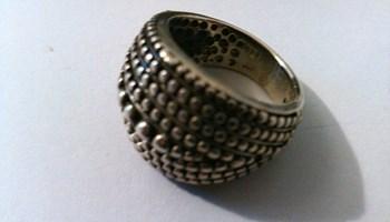 Srebrni prsten 13 grama